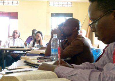 Pastors under training