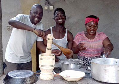 The amazing cooks!