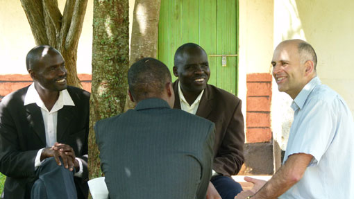 Teaching pastors in Kenya