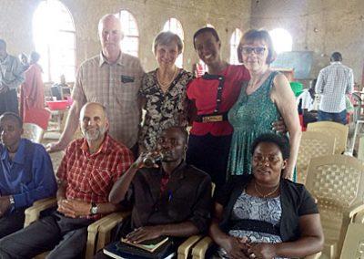 Our team in Burundi