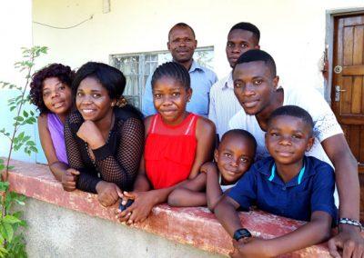 Bishop Duwen and his family